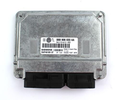 VW Motorsteuergerät Steuergerät Passat 5WP4010907 06B906033AA