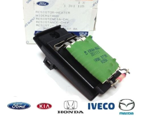 New! GENUINE FORD FOCUS MONDEO TRANSIT CONNECT HEATER BLOWER RESISTOR PACK