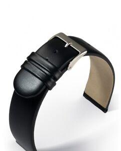 Wristwatch-Strap-Leather-Black