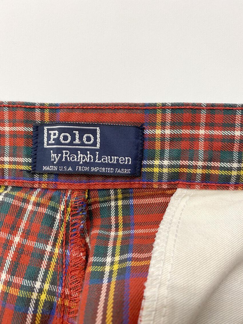 ⭕ 80s Vintage Ralph Lauren Plaid shorts : punk sh… - image 5