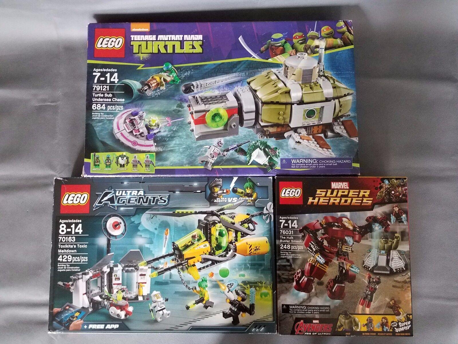 LEGO Lot  3 sets 76031, 79121, 70163  il più economico