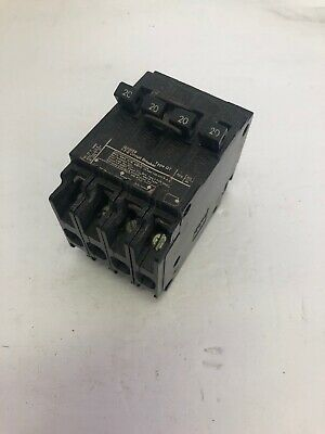 ITE Type QT Circuit Breaker 2 Pole Units 20-20 Amp 240V  Q22020