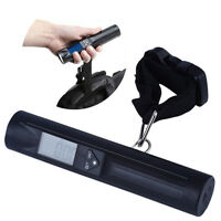 Portable Digital 40kg/10g Travel Luggage Hanging Strap Scale Flashlight BE