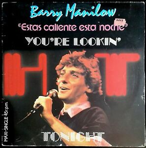 Barry-Manilow-You-039-re-Lookin-039-Hot-Tonight-Spain-Maxi-Single-Arista-12-034