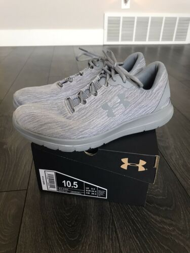 Under Armour Remix Shoes Grey Mens Sz 10.5