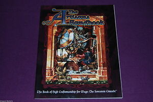MAGE-THE-SORCERERS-CRUSADE-RPG-JDR-Jeu-de-Role-The-Artisans-Handbook