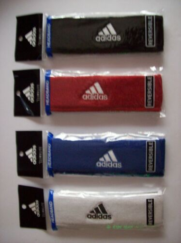 Adidas Headband Reversible Running Workout Sport m Select Color New