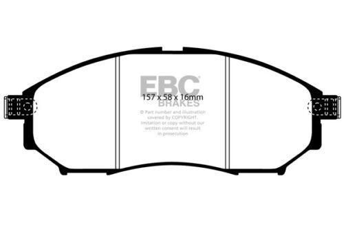175 BHP 2008 /> 15 EBC Ultimax Front Brake Pads for Renault Koleos 2.0 TD