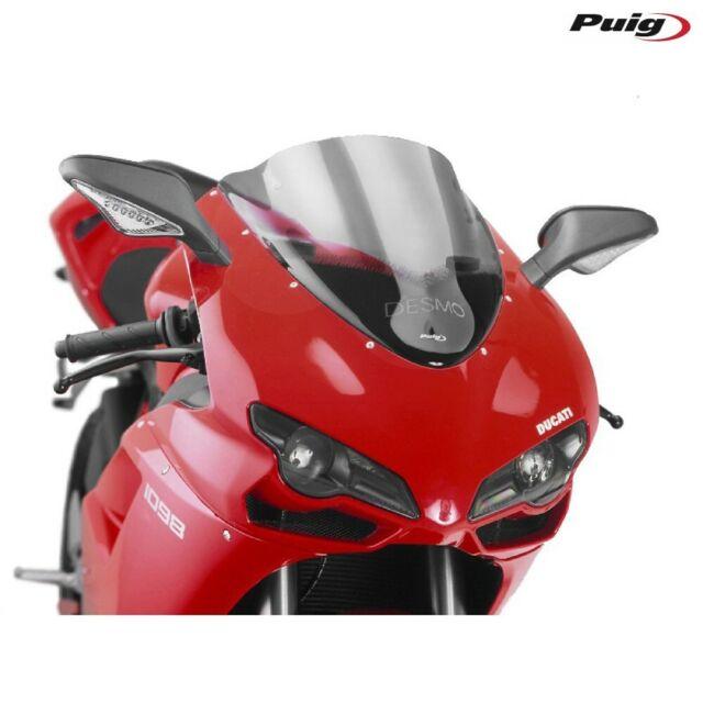 PUIG 4667H Fairing Racing Smoke Clear Ducati 848 2008-2010