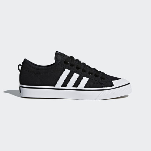 Adidas CQ2332 Men Nizza casual shoes black white sneakers best-selling model of the brand