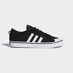 Women Adidas CQ2332 Nizza Casual shoes black white Sneakers