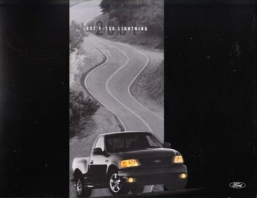 2001 01 Ford SVT Lightning original sales brochure MINT