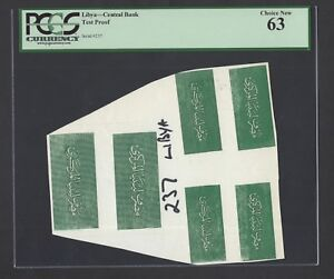 Africa Fast Deliver Libya Central Bank Test Proof Uncirculated Unique Pleasant To The Palate Coins & Paper Money