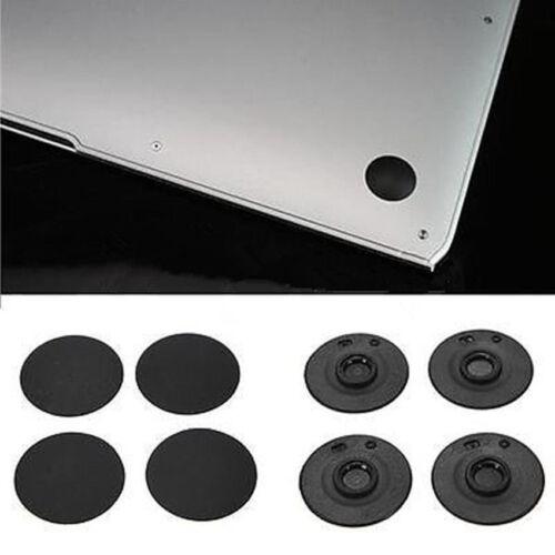 """NEW 4 X Bottom Rubber Feet Foot fit MacBook Pro A1278 A1286 A1297 13/"""" 15/"""" 17/"""" xp"""