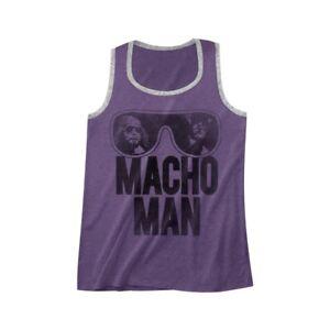 2d52039e4f70f Image is loading Macho-Man-Randy-Savage-WWE-Purple-Mens-Tank-