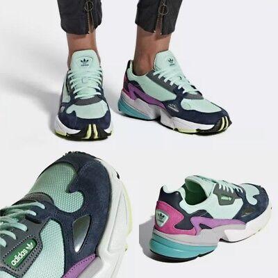 Adidas Women's Originals Falcon Shoes Blue BB9175