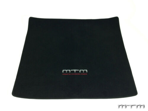 Original MTM Kofferraum Matte Autoteppich Audi TT TTS TTRS 8J Coupe Schwarz