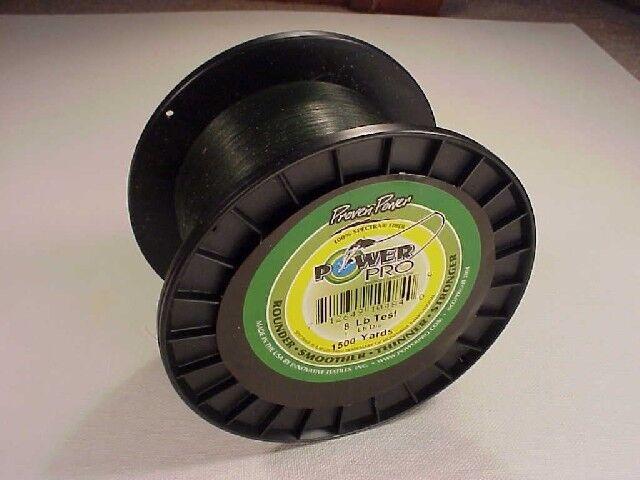 Power Pro Trenzado Spectra Línea 8 lb (approx. 3.63 kg) X 1500 YD (approx. 1371.60 m) verde Musgo (Enviamos a todo el mundo )
