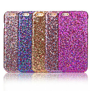 Luxury-Bling-Glitter-Hard-Back-Phone-Case-Cover-For-iPhone-SE-5S-6plus-6s-plus