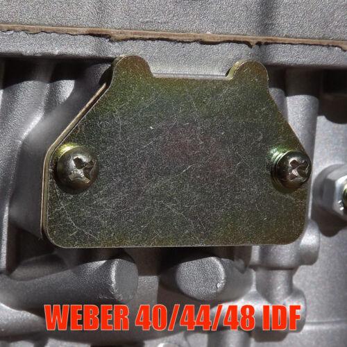 38 40 44 45 48 DCOE//IDF Weber Vergaser choke deckel mit Schrauben und Dichtung