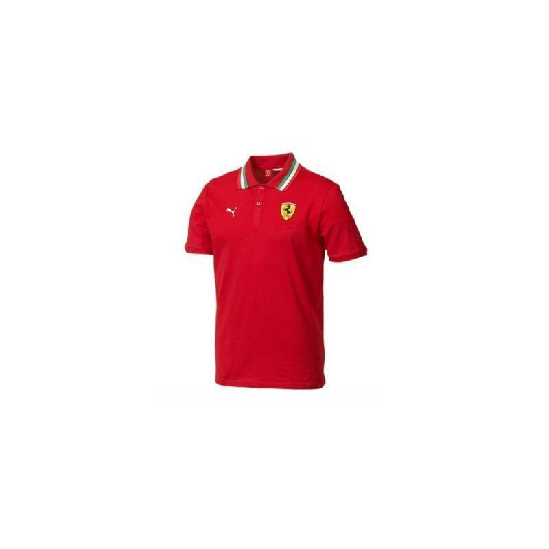 Polo Ferrari homme rouge taille taille taille S cead04