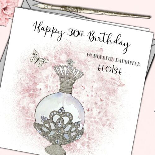 Personalised Birthday Card Friend Sister Grand Daughter Niece18th 21st 30th 40th