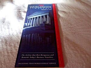 TWA-Worldwide-Timetable-Sep-9-1998-Edition