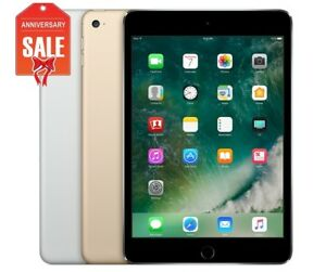 Apple-iPad-Mini-4-WiFi-Cellular-Unlocked-16GB-32GB-64GB-Gray-Silver-Gold-U