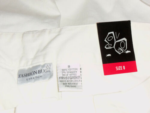 bianchi stretch 8 Bug donna Fashion di Pantaloncini Nwt Bermuda taglia da taglia 5FxnPZq