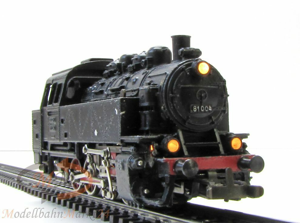 Märklin 3031 DB tenderlok 81 004 época III télex Spur h0 1 87 - Embalaje original