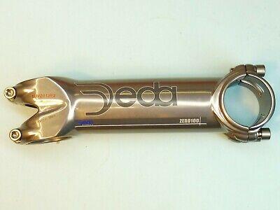 8 cm bike handlebar stem Deda Zero 100 S.Course DMP NOS