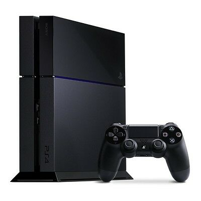 New Open Box Sony PlayStation 4 PS4 500GB Jet Black Edition Console System