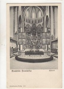 Roskilde Domkirke Alteret Denmark Vintage UB Postcard 506b - Aberystwyth, United Kingdom - I always try to provide a first class service to you, the customer. If you are not satisfied in any way, please let me know and the item can be returned for a full refund. Most purchases from business sellers are protected by - Aberystwyth, United Kingdom