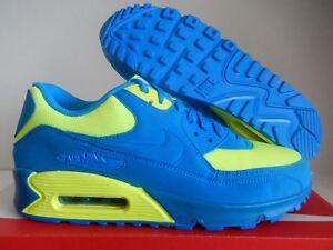 NIKE AIR MAX 90 ID SMURF BLUE-VOLT