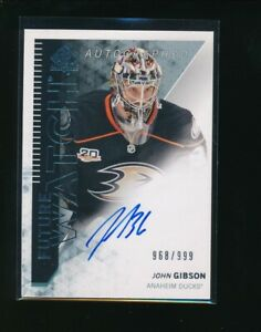 2013-14-SP-Authentic-296-John-Gibson-Autographed-968-999