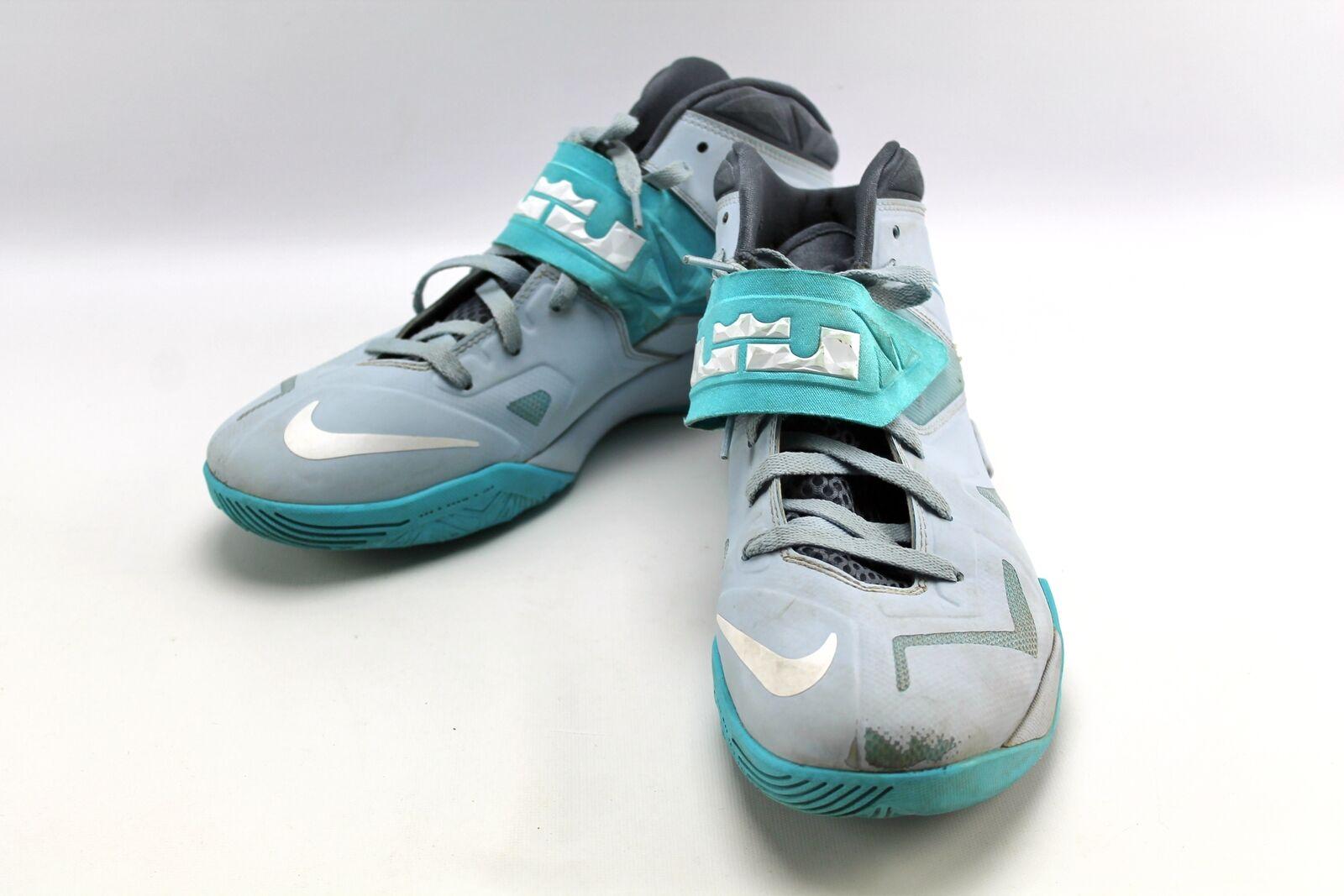 Lebron James Nike Zoom Solider 7 VII azul Basketball zapatos zapatillas Men 10.5