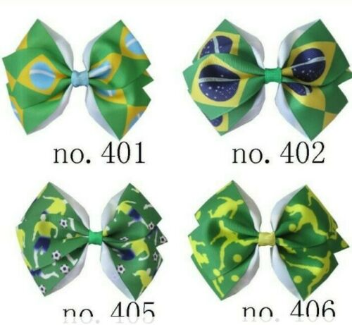 "50 Girl 4.5/""  New Angel Hair Bow Clip L.O.L Surprise Doll Mermaid Wholesale"
