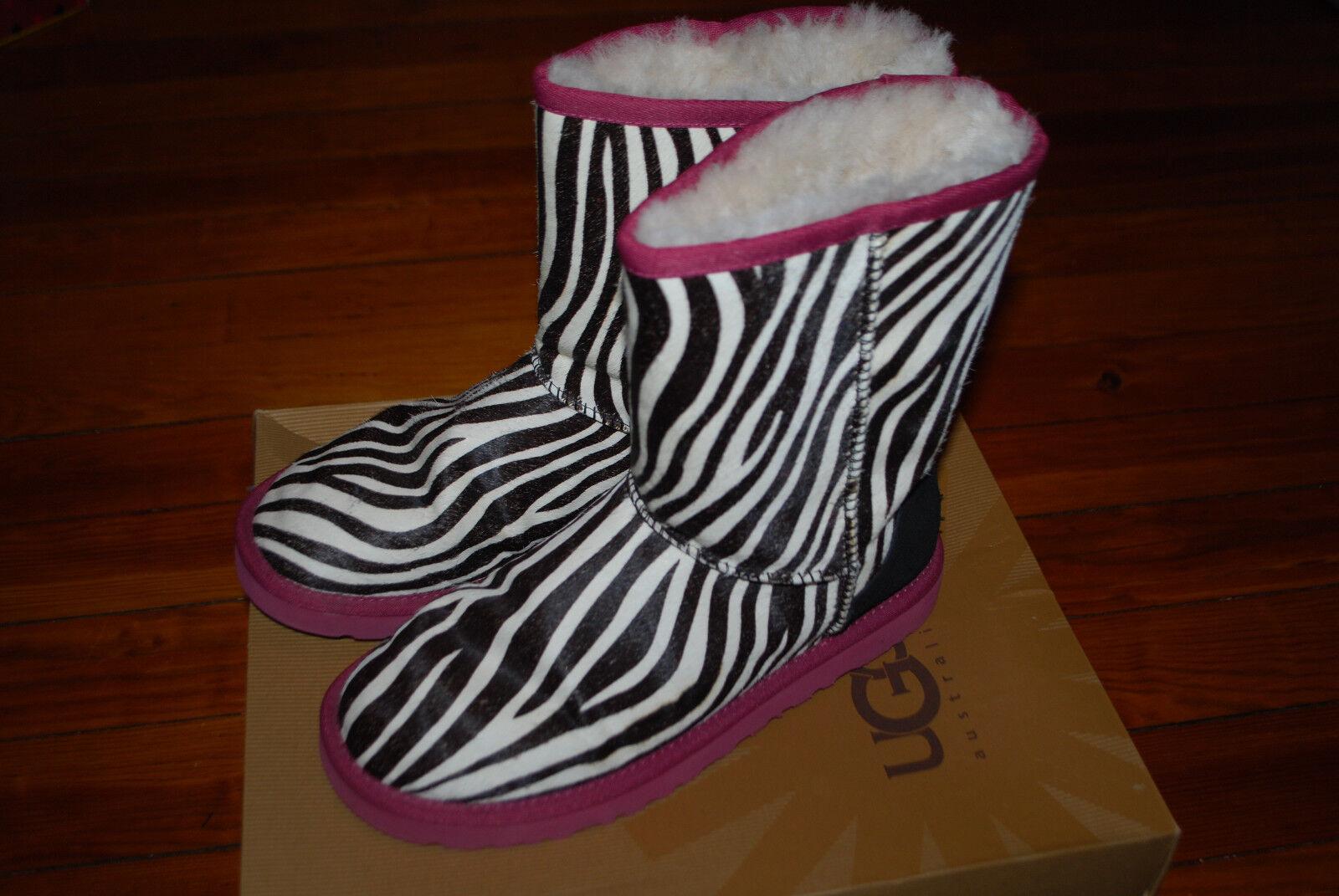 Women's Ugg Australia Exotic Zebra Hair Classic B… - image 5