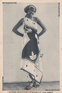 * SOMALIA - Noble of Somali Race 1937 Merca - Italian Mail