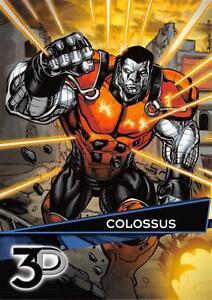 COLOSSUS-Marvel-3D-Upper-Deck-2015-BASE-Trading-Card-65