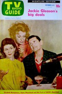 TV Guide 1968 Bewitched Elizabeth Montgomery Moorehead Dick York Halloween COA