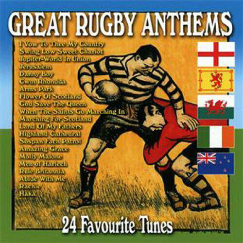 Various Artists : Great Rugby Anthems CD (2015) ***NEW*** FREE Shipping, Save £s