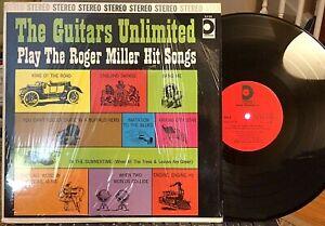 Guitars-Unlimited-Play-Roger-Miller-Hit-Songs-Design-DLP-254-1966-NM-Shrink