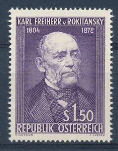 Osterreich-Nr-997-postfrisch-Karl-Freiherr-von-Rokitanski-34910