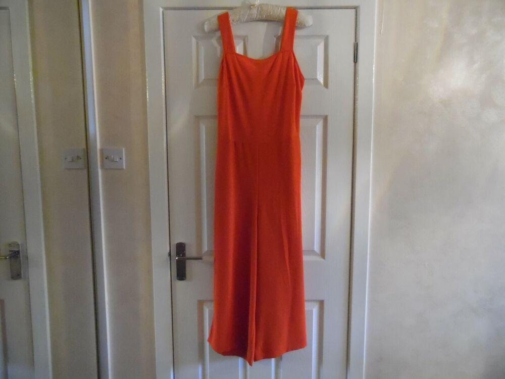 ** Nouveau ** Next Orange Combinaison Taille 16-bnwt