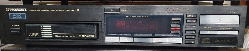 CD afspiller, Pioneer, PD-M40 6