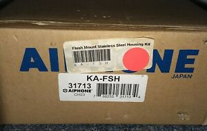 New-Open-Box-Aiphone-KA-FSH-31713-Flush-mount-Housing