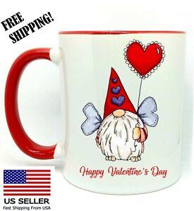 Gift White Mug 11 oz Merry Christmas Gnomes Coffee//Tea