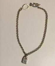 Links Of London Vintage Lock Double Toggle Style Bracelet