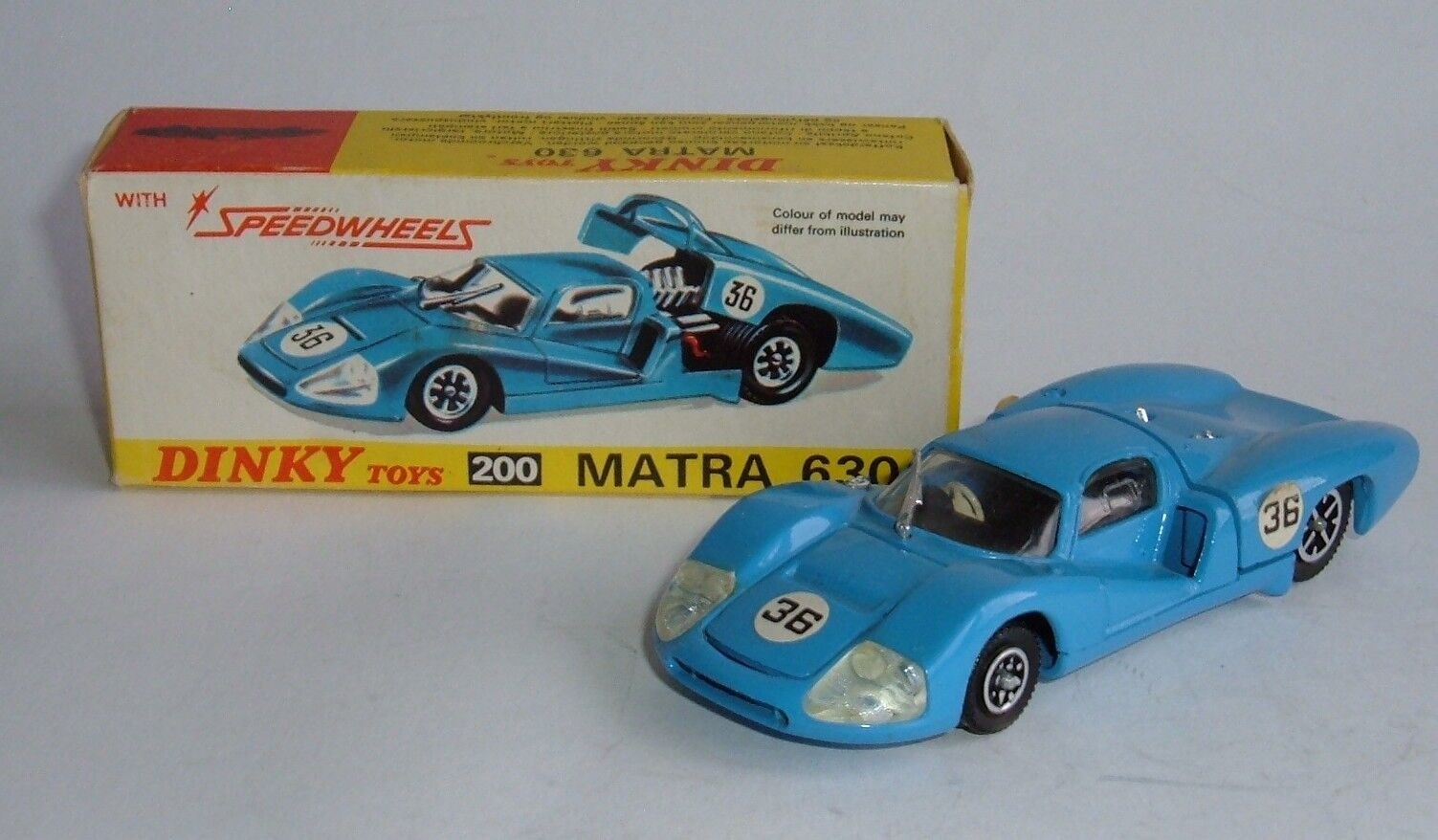 Dinky Toys No. 200, Matra 630, - Superb Very Near Mint